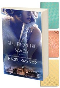 Win an advance copy of The Girl From The Savoy!