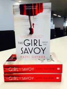 THE GIRL FROM THE SAVOY publication day!!