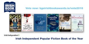 Irish Book Awards nomination!